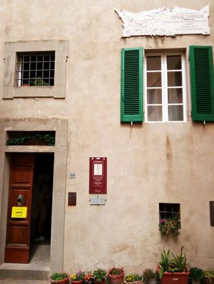 Casa Carducci a castagneto.