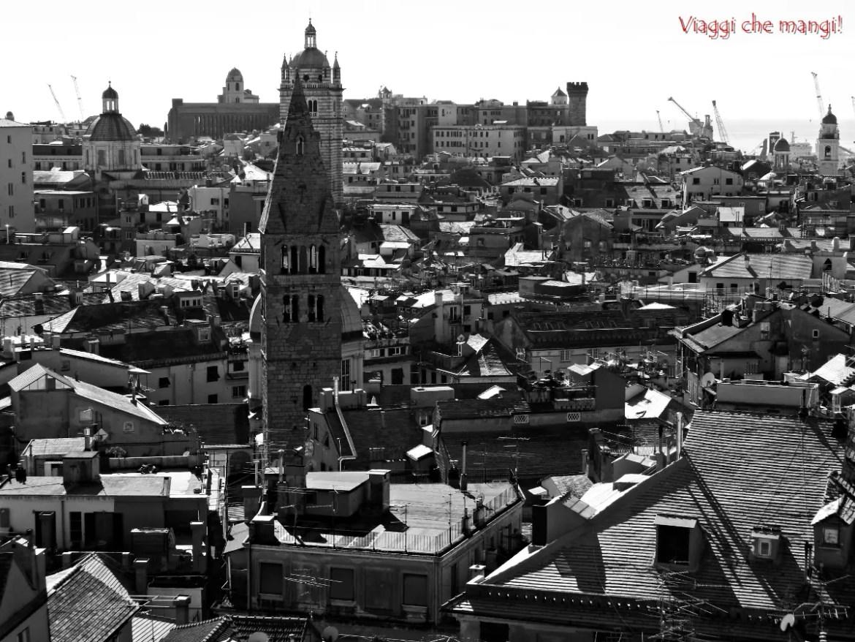 Cose da fare a Genova: ammirare zana da Spianata Castelletto