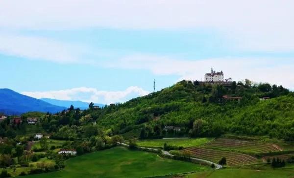 Foto del panorama dal forte di gavi.