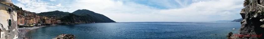 Camogli: panorama dal castello della dragonara.