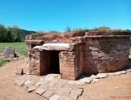 Tomba a tumulonella necropoli di Baratti.
