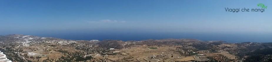Panoramica da Agios Andreas a sifnos.