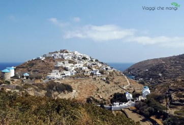 Kastro, paese dell'isola di Sifnos.