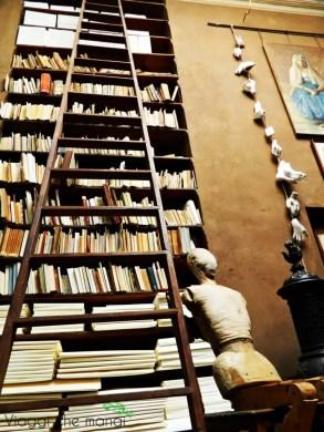 libreria nella casa del pittore pellizza da volpedo.