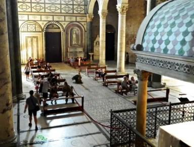 abbazia di san miniato al monte: la navata centrale