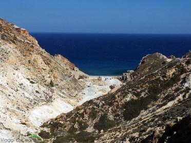 Spiaggia di Paliorema a Milos.