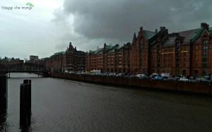 lo Speicherstadt di Amburgo.