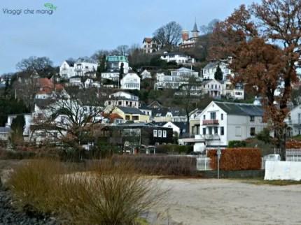 cosa fare ad amburgo: una passeggiata nel borgo di pescatori di Blankenese.