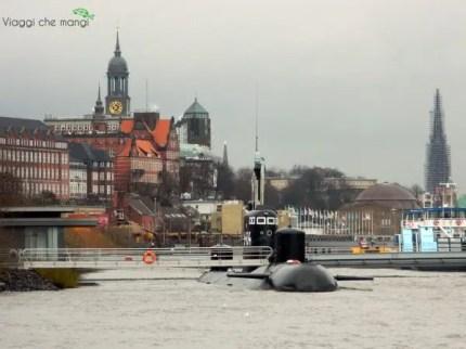 U434, il sottomarino di Amburgo.