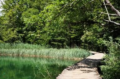 passerella ai Laghi di Plitvice.