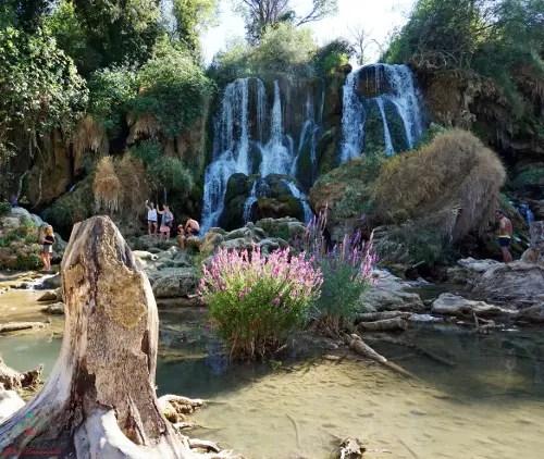 le cascate di kravice e la loro meravigliosa natura.