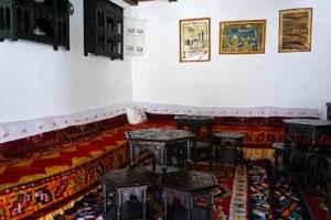 Gli interni della Casa Biscevic a Mostar.