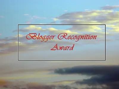 """Immagine di copertina del post """"Blogger recognition awards""""."""