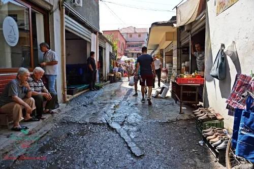 mercato di Scutari città da visitare in albania