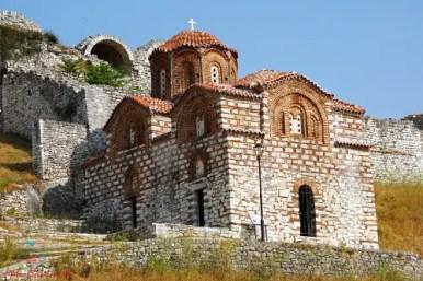 berat chiesa ortodossa castello città da visitare in albania