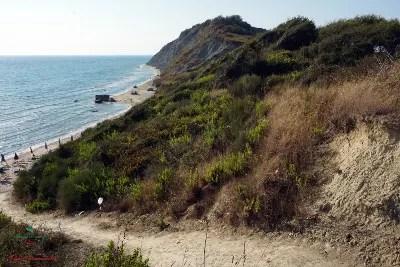 Plazhi Portez, una spiaggia da vedere durante le vacanze a Durazzo, Albania.
