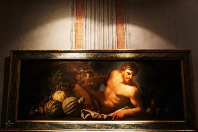 Autunno, Domenico Piola, olio su tela dipinti autunnali