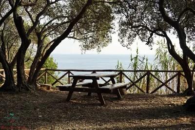 Area pic nic, Villa Duchessa di Galliera, Genova Voltri.