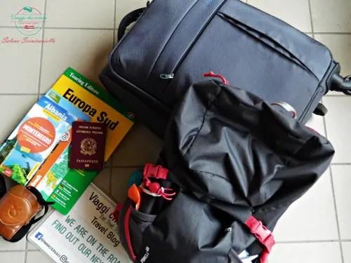 cosa mettere in valigia prima di partire.