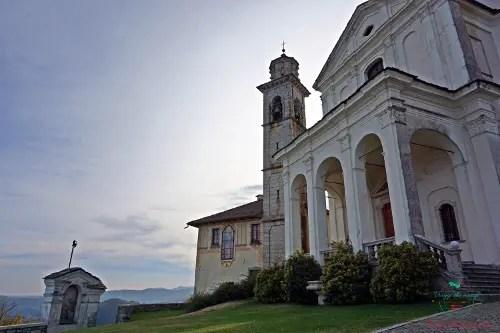 Santuario della Madonna del Sasso una delle tappe imperdibili se vuoi visitare il Lago d'Orta.