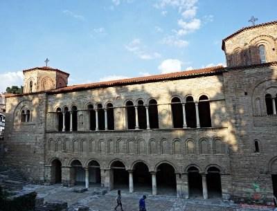 cosa vedere sul lago di ohrid: la chiesa di sveta sofija.