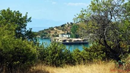 cosa fare sul lago di ohrid: visitare la Bay of Bones, area archeologica sul Lago di Ohrid in Macedonia.