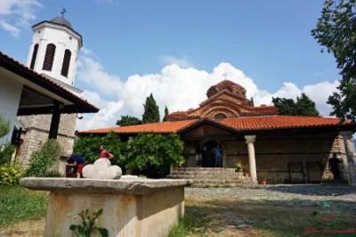 cosa vedere sul algo di ohrid: la chiesa di Santa MariaPeribletos.