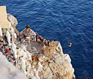 Tuffi dal Buza Bar, Dubrovnik, Croazia.