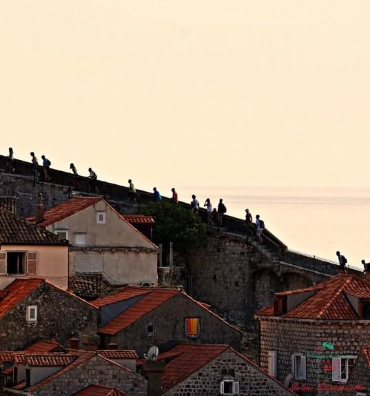 cosa vedere a dubrovnik: le mura della città