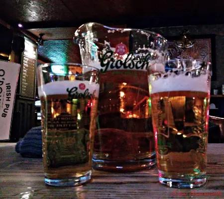 bere birra ad amsterdam: 2 litri di birra al pub o'donnell'