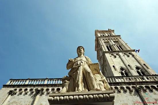 cosa vedere a trogir: la cattedrale di San Lorenzo.