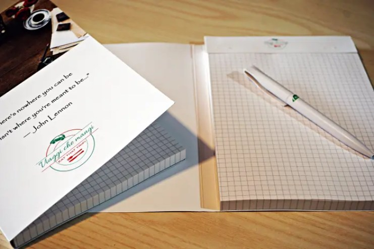 stampare un block notes personalizzato online con doctaprint
