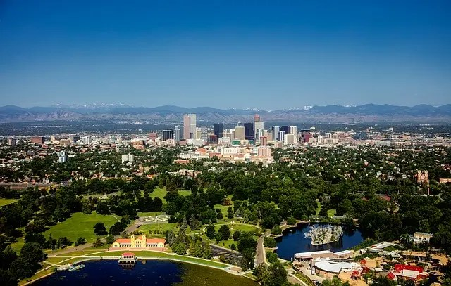 la città di denver in colorado.