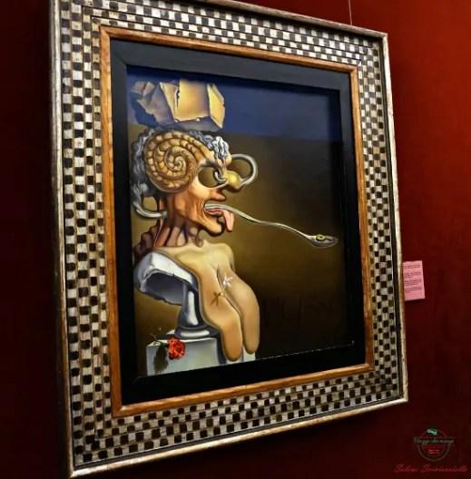 una delle opere da non perdere al teatro museo dalì è il ritratto di picasso.