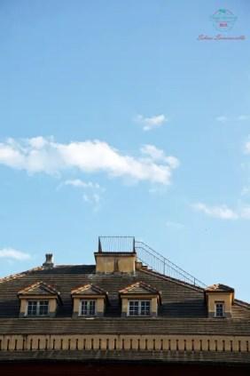 Il Miradore di Palazzo Rosso: un terrazzino sul tetto del museo da cui si gode un bellissimo panorama di genova dall'alto.