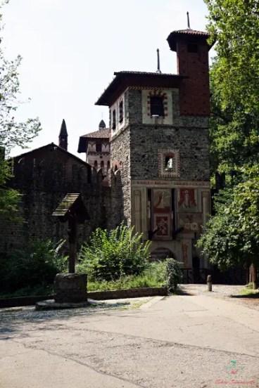 Il borgo medioevale nel Parco del Valentino di Torino è una delle cose da visitare in città.