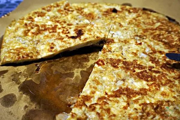 fittata porri curry e ricotta, una delle tre ricette estive veloci.