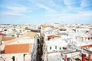 Una delle cose da vedere a Ruvo di Puglia è il panorama dalla Torre dell'Orologio.
