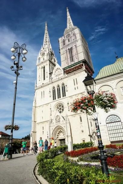 Cosa vedere a Zagabria: la Cattedrale.