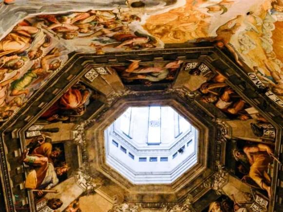 Cosa vedere a Firenze? La Cupola del Brunelleschi e i suoi affreschi.