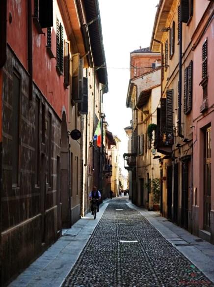 Strade di Pavia.