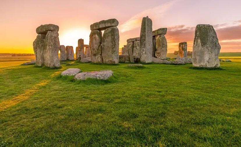 Stonehenge, luogo presente in uno dei libri ambientati in Inghilterra: tess dei d'urbervilles.