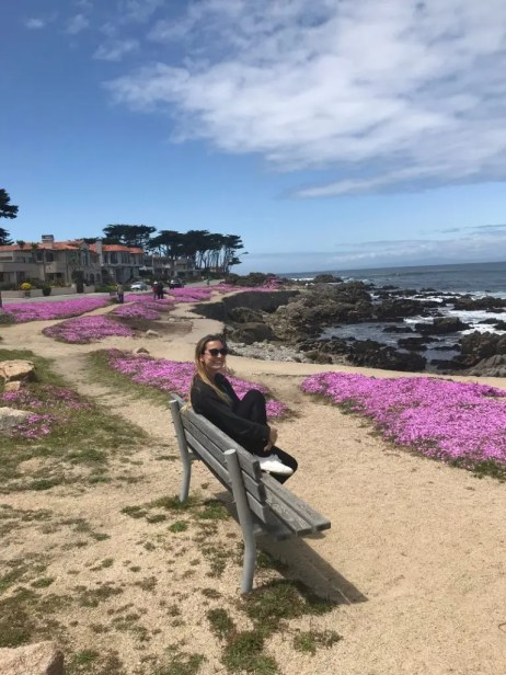 Visiting Monterey you can't miss the nike trail © Pizza e Cookies