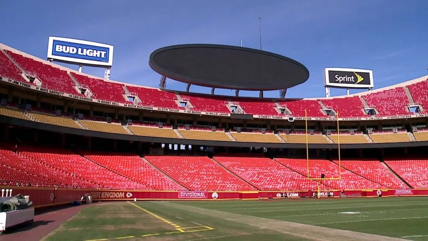 Cosa fare a Kansas City: partecipare ad un evento sportivo all'Arrowhead Stadium.