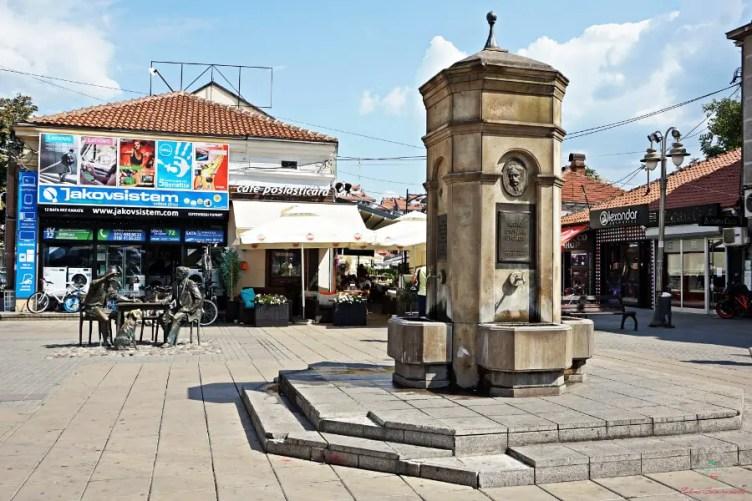 Cosa vedere a Niš: piazza Kopitareva.