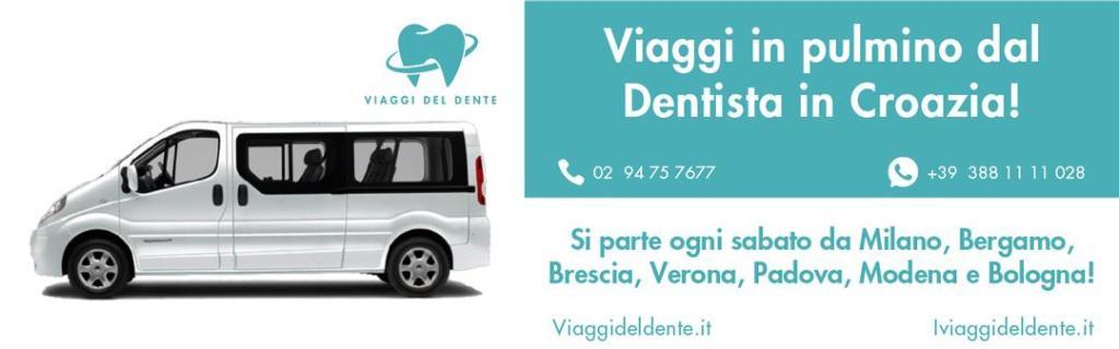 Dal 2005 Viaggi e Cure Dentistiche in Croazia e in Albania. Affidati anche tu ai migliori professionisti delle Cure dentistiche in Croazia e in Albania!