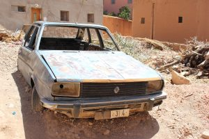 una vecchia Renault
