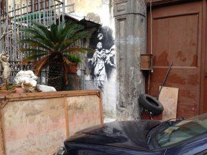 L'altra Madonna con la Pistola di Banksy a Napoli è vero o falso?