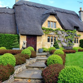 Uno dei meravigliosi cottage a Chipping Campden
