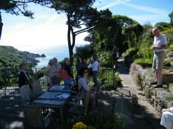 Chygurno - un giardino vista mare